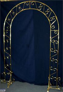 brass arch